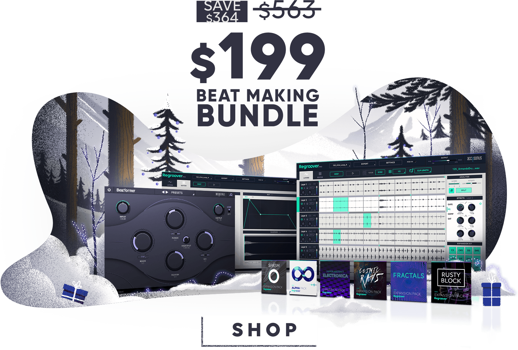 Beat making bundle, end of year sale