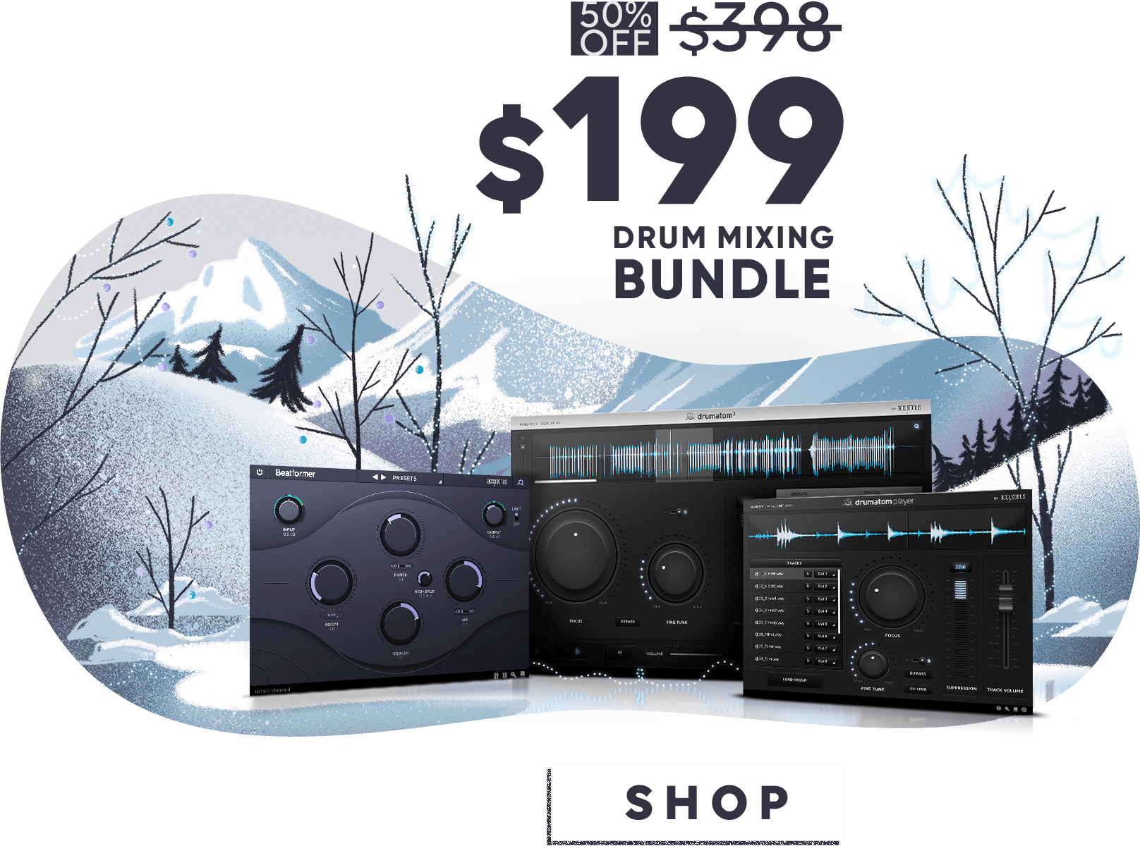 Drum making bundle, end of year sale
