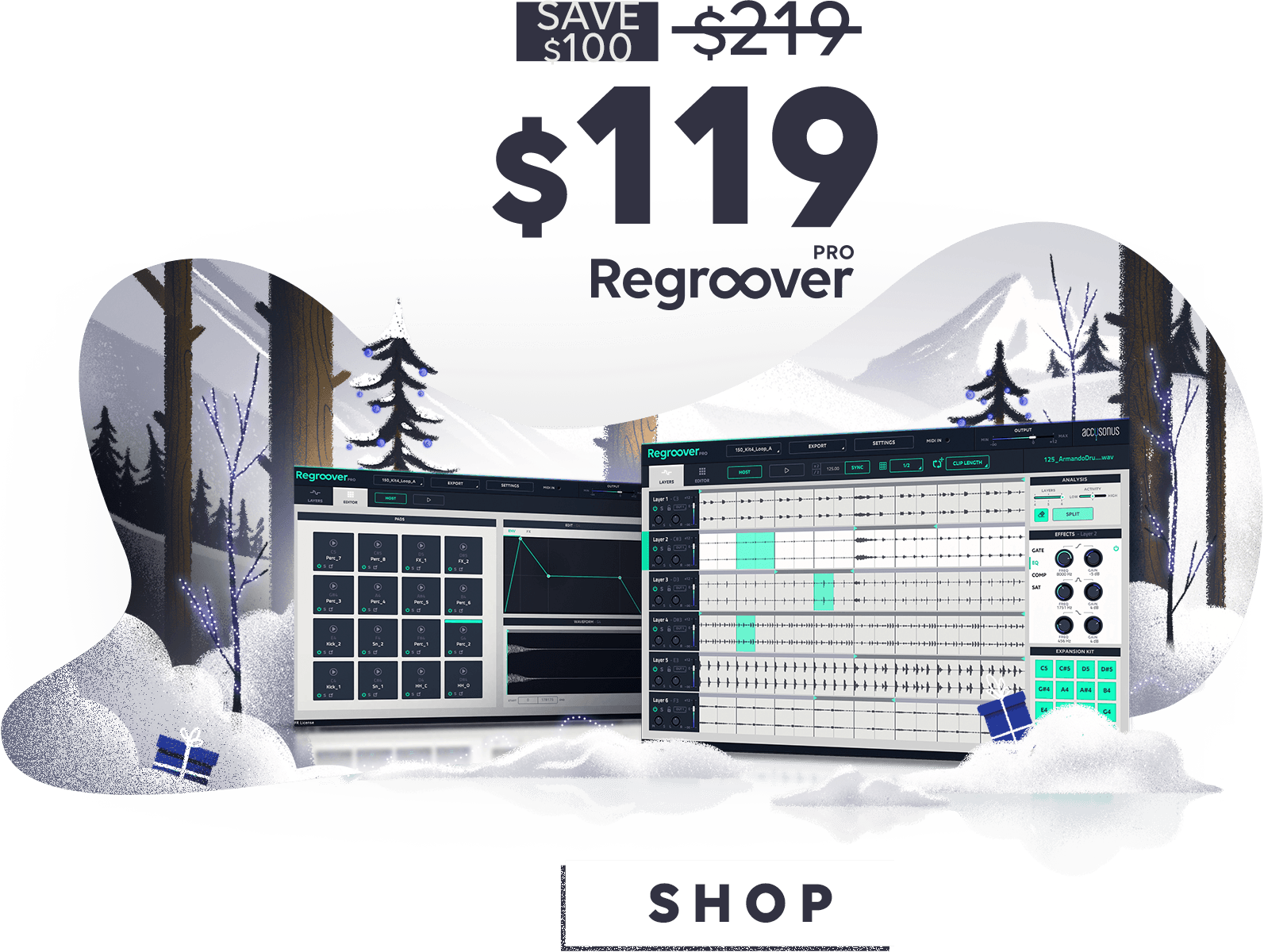 Regroover, end of year sale