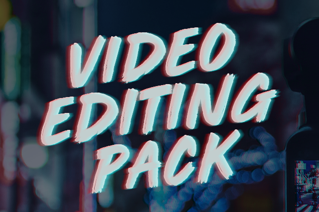 ERA - Video Editing Pack