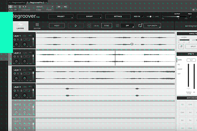 Abusing Regroover: Importing a Vocal and Music Loops