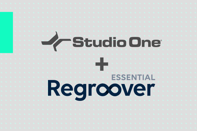 Regroover x Studio One