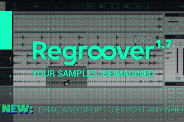 Regroover 1.7: Drag and drop anywhere