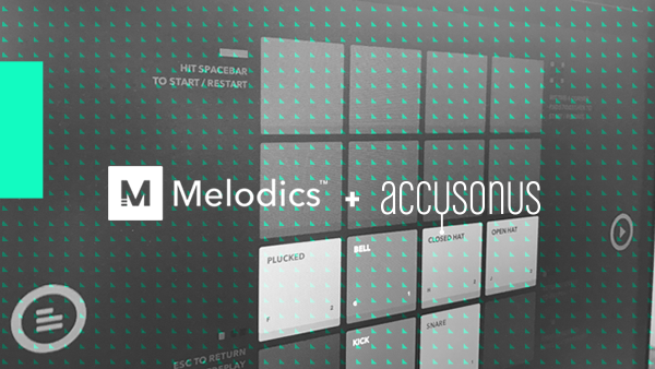 Melodics finger-drumming course based on Regroover Expansion Pack FRACTALS
