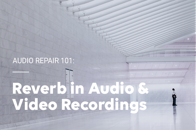 Audio Repair 101: Reverb in Audio & Video Recordings