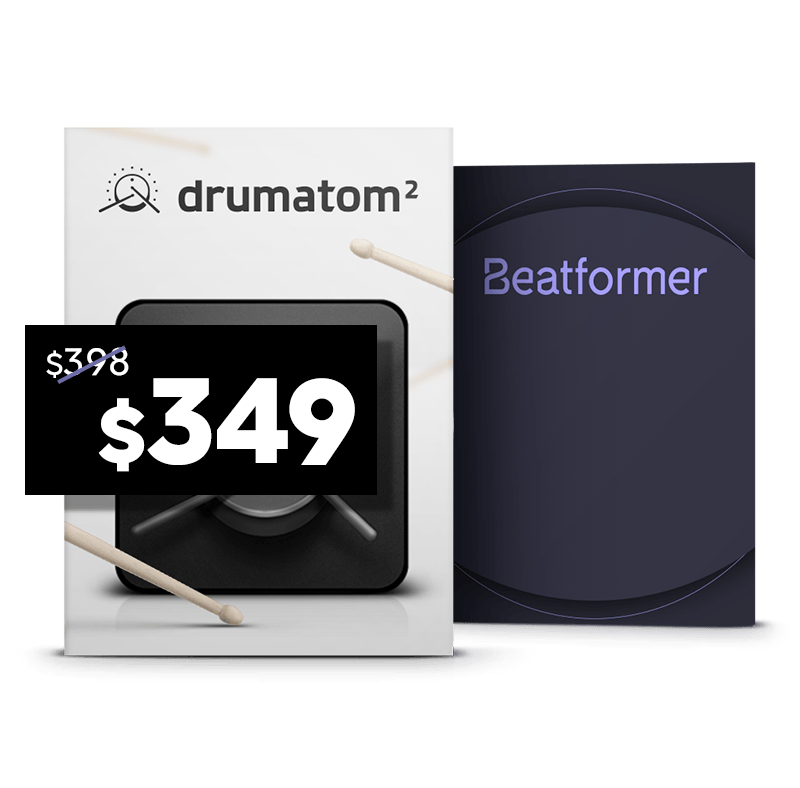 Drum Mixing Bundle <br/>(drumatom², Beatformer)